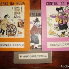 Libros de segunda mano: EDICIONS CASTRELOS - O MOUCHO NUMEROS 1- CATECISMO DO LABREGO,15 CONTOS DO POBO, 23 HISPAS DA RODA. Lote 133764318