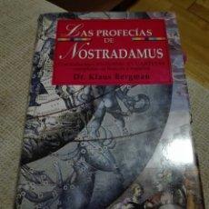 Libros de segunda mano: LAS PROFECÍAS DE NOSTRADAMUS. KLAUS BERGMAN. EDIMAT 1999. Lote 133777939