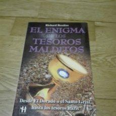 Libros de segunda mano: EL ENIGMA DE LOS TESOROS MALDITOS - RICHARD BESSIERE ROBINBOOK ENIGMAS MISTERIOS ORO NAZI. Lote 133780801