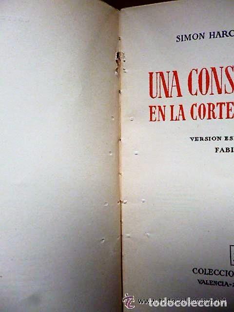 Libros de segunda mano: UNA CONSPIRACIÓN EN LA CORTE DE FELIPE V - Foto 3 - 133781154