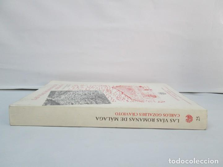 Libros de segunda mano: LAS VIAS ROMANAS DE MALAGA. CARLOS GOZALBES CRAVIOTO. COLEGIO DE INGENIEROS DE CAMINOS - Foto 3 - 133829562