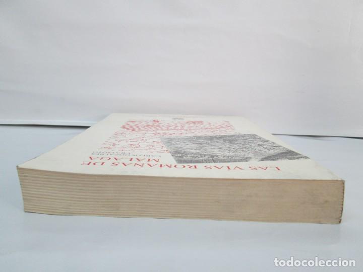 Libros de segunda mano: LAS VIAS ROMANAS DE MALAGA. CARLOS GOZALBES CRAVIOTO. COLEGIO DE INGENIEROS DE CAMINOS - Foto 6 - 133829562