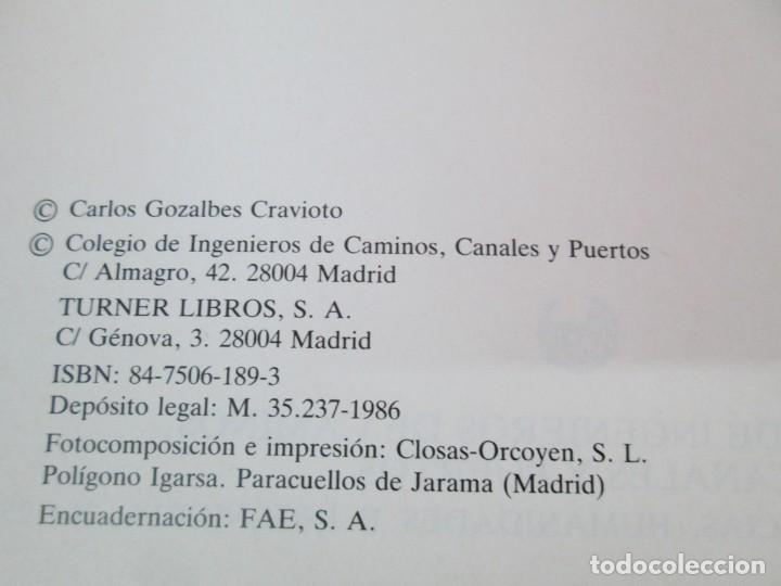 Libros de segunda mano: LAS VIAS ROMANAS DE MALAGA. CARLOS GOZALBES CRAVIOTO. COLEGIO DE INGENIEROS DE CAMINOS - Foto 8 - 133829562