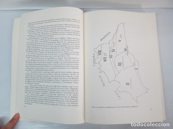 Libros de segunda mano: LAS VIAS ROMANAS DE MALAGA. CARLOS GOZALBES CRAVIOTO. COLEGIO DE INGENIEROS DE CAMINOS - Foto 9 - 133829562