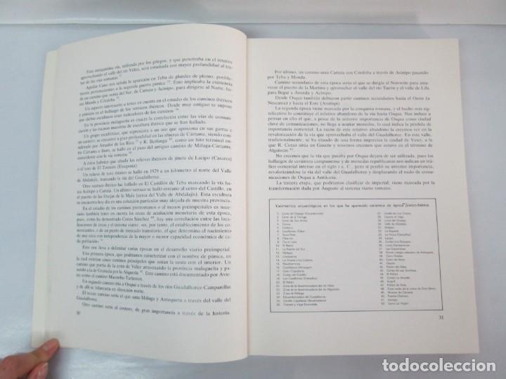 Libros de segunda mano: LAS VIAS ROMANAS DE MALAGA. CARLOS GOZALBES CRAVIOTO. COLEGIO DE INGENIEROS DE CAMINOS - Foto 10 - 133829562