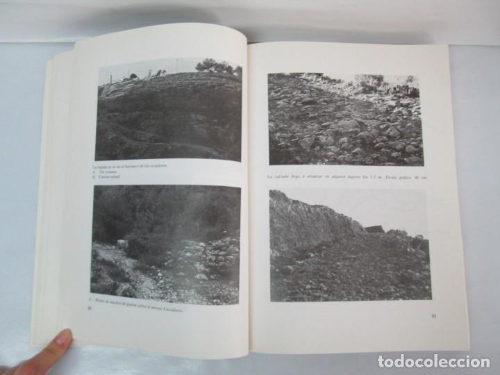 Libros de segunda mano: LAS VIAS ROMANAS DE MALAGA. CARLOS GOZALBES CRAVIOTO. COLEGIO DE INGENIEROS DE CAMINOS - Foto 12 - 133829562