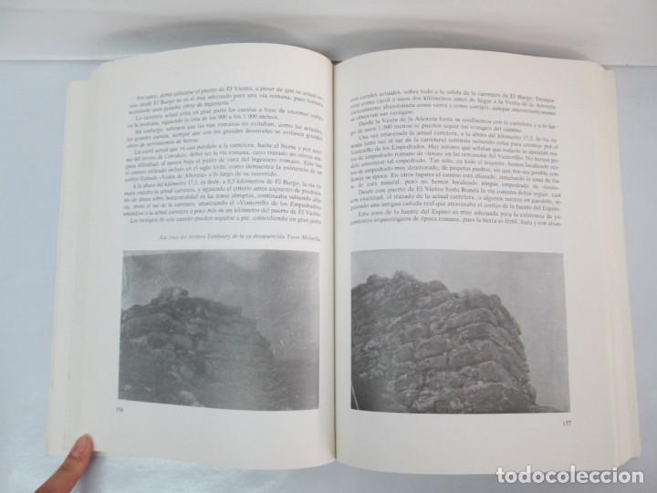Libros de segunda mano: LAS VIAS ROMANAS DE MALAGA. CARLOS GOZALBES CRAVIOTO. COLEGIO DE INGENIEROS DE CAMINOS - Foto 13 - 133829562