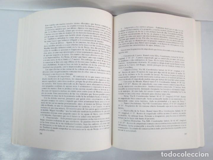 Libros de segunda mano: LAS VIAS ROMANAS DE MALAGA. CARLOS GOZALBES CRAVIOTO. COLEGIO DE INGENIEROS DE CAMINOS - Foto 17 - 133829562
