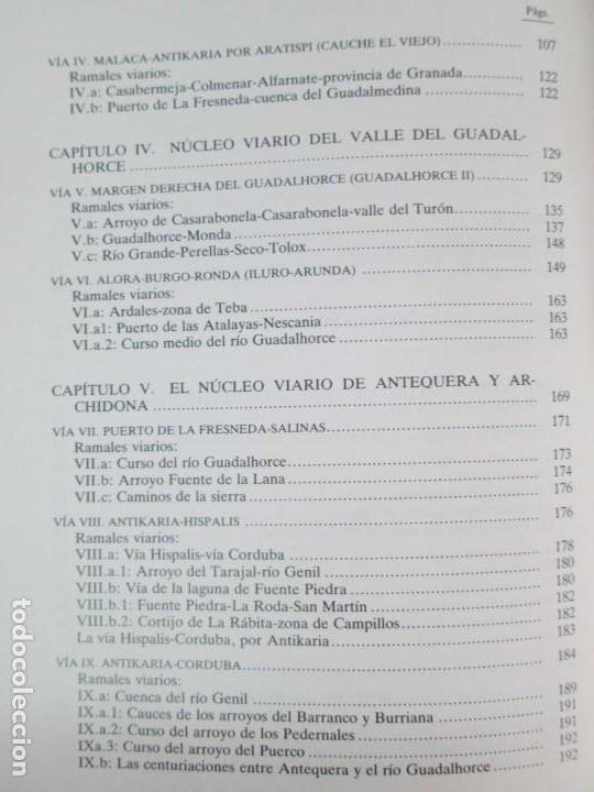 Libros de segunda mano: LAS VIAS ROMANAS DE MALAGA. CARLOS GOZALBES CRAVIOTO. COLEGIO DE INGENIEROS DE CAMINOS - Foto 24 - 133829562