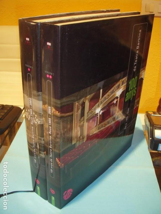 100 ANYS DE TEATRE BARTRINA, REUS, 1905-2005 (2 VOLUMS) - ALBERT ARNAVAT I ALTRES 2005, 1ª ED (NOUS) (Libros de Segunda Mano - Bellas artes, ocio y coleccionismo - Otros)