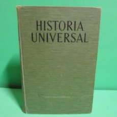 Libros de segunda mano: HISTORIA UNIVERSAL EDITORIAL VALOR S.A. 135 FIGURAS Y 243 FOTOGRAFIAS BUEN ESTADO AÑO 1960. Lote 133983350