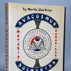 Libros de segunda mano: AVACOSMUN & DOLMENIDA . TEORÍA ANTROPOLÓGICA PARA LA HISTORIA DE LA HUMANIDAD. Lote 133985606