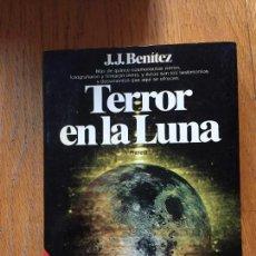 Libros de segunda mano: TERROR EN LA LUNA, JJ. BENITEZ. Lote 134018466