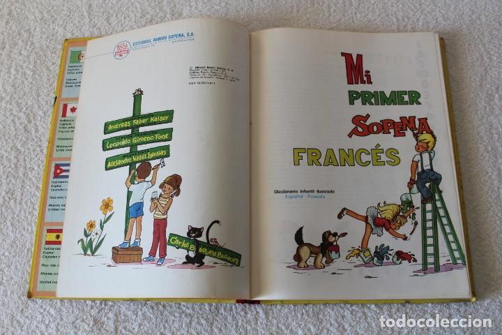 Libros de segunda mano: MI PRIMER SOPENA FRANCES, DICCIONARIO INFANTIL ILUSTRADO - EDITORIAL SOPENA 1977 - Foto 3 - 134037502