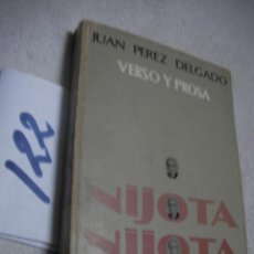 Libros de segunda mano: NIJOTA - JUAN PEREZ DELGADO. Lote 134044566