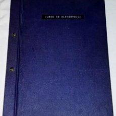 Libros de segunda mano: CURSO DE ELECTRÓNICA, CURSO PARA FORMACIÓN DE INSTRUMENTISTAS - COMPAÑÍA ESPAÑOLA DE PETRÓLEOS. Lote 134045290
