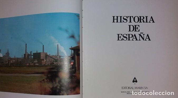 Libros de segunda mano: Historia de España (6 vols.) (Marín) (lb) - Foto 4 - 130429346