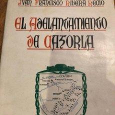 Libros de segunda mano: EL ADELANTAMIENTO DE CAZORLA. HISTORIA GENERAL.1948. Lote 133418925