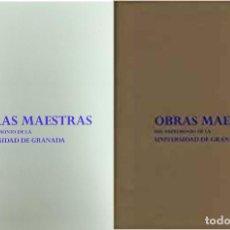 Libros de segunda mano: OBRAS MAESTRAS DEL PATRIMONIO DE LA UNIVERSIDAD DE GRANADA. Lote 134126170