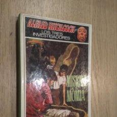Libros de segunda mano: ALFRED HITCHCOCK Y LOS TRES INVESTIGADORES. Nº 3. EL MISTERIO DE LA MOMIA. MOLINO. 1988. Lote 134152318