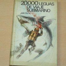 Libros de segunda mano: 20000 LEGUAS DE VIAJE SUBMARINO - JULIO VERNE - CIRCULO DE LECTORES - 1968. Lote 134226546