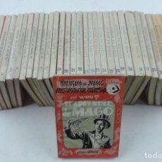Libros de segunda mano: BIBLIOTECA DE JUEGOS, PRESTIDIGITACIÓN E ILUSIONISMO, POR WHO? 36 TÍTULOS. DEL NUM. 1 AL 41. MAGIA. . Lote 134271742