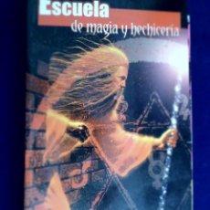 Libros de segunda mano: ESCUELA DE MAGIA Y HECHICERÍA. LUIS G. LA CRUZ. BIBLIOTECA AÑO CERO. Lote 134354610
