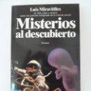Libros de segunda mano: MISTERIOS AL DESCUBIERTO. MIRAVITLLES. Lote 134375198