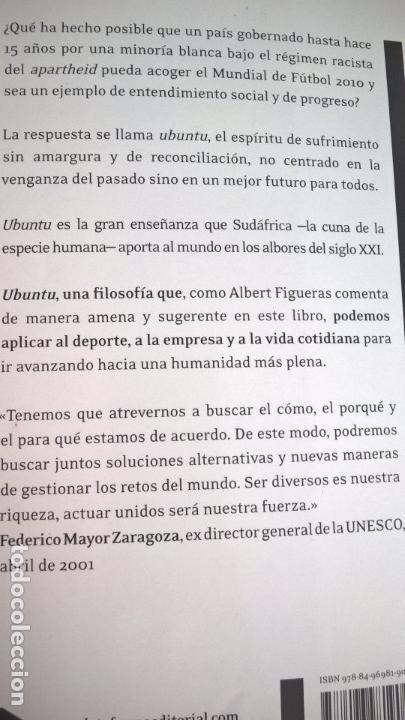 Libros de segunda mano: UBUNTU/ SUDAFRICA: EL TRIUNFO DE LA CONCORDIA. ALBERT FIGUERAS. NELSON MANDELA. - Foto 6 - 134401690