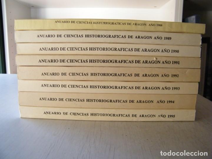 Libros de segunda mano: ANUARIO DE CIENCIAS HISTÓRICAS DE ARAGÓN (VIII TOMOS) - INST. ARAGONÉS DE INVESTIGACIONES HISTÓRICAS - Foto 2 - 134414366
