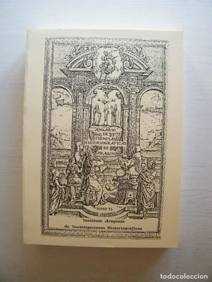 Libros de segunda mano: ANUARIO DE CIENCIAS HISTÓRICAS DE ARAGÓN (VIII TOMOS) - INST. ARAGONÉS DE INVESTIGACIONES HISTÓRICAS - Foto 4 - 134414366