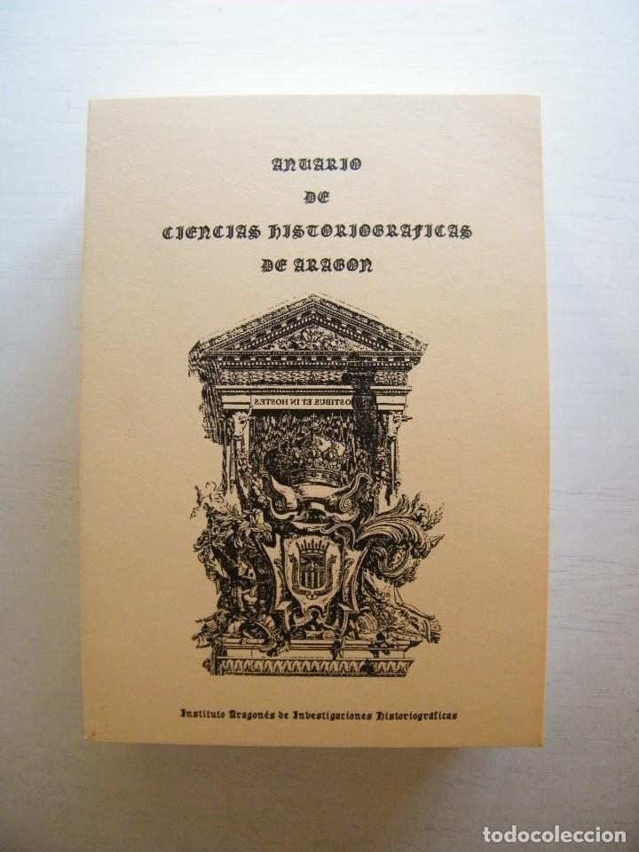 Libros de segunda mano: ANUARIO DE CIENCIAS HISTÓRICAS DE ARAGÓN (VIII TOMOS) - INST. ARAGONÉS DE INVESTIGACIONES HISTÓRICAS - Foto 5 - 134414366