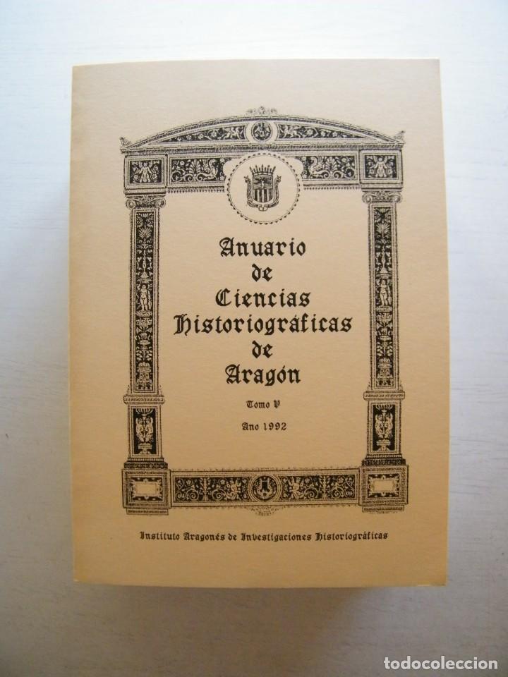Libros de segunda mano: ANUARIO DE CIENCIAS HISTÓRICAS DE ARAGÓN (VIII TOMOS) - INST. ARAGONÉS DE INVESTIGACIONES HISTÓRICAS - Foto 6 - 134414366