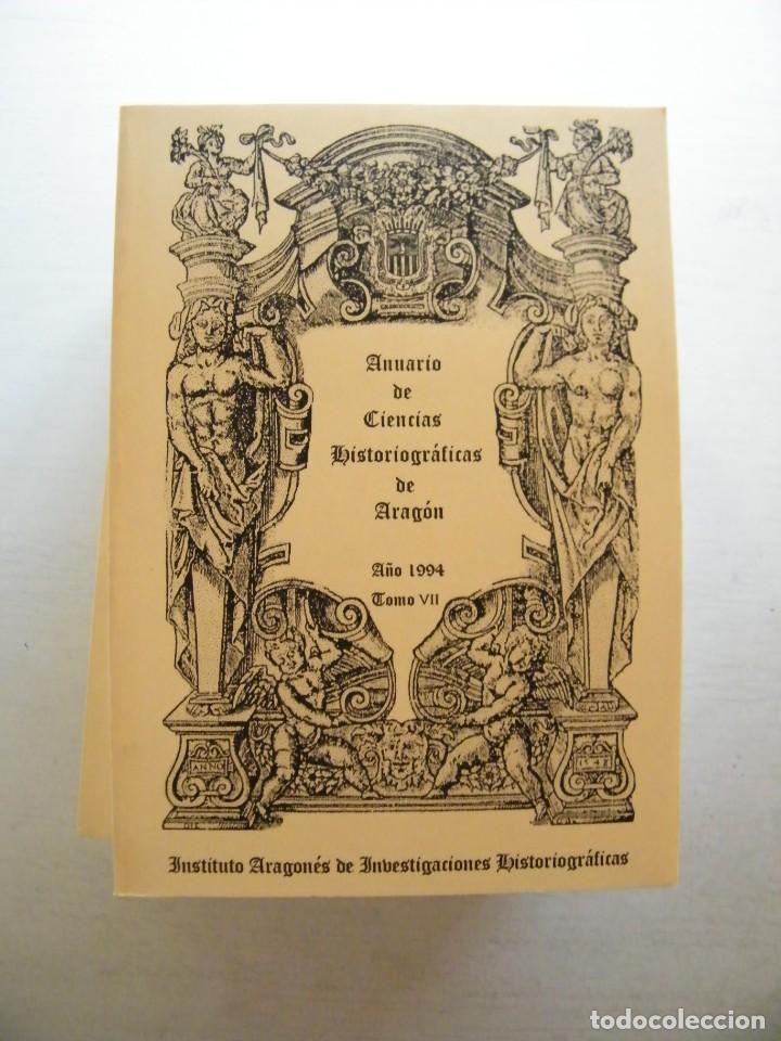Libros de segunda mano: ANUARIO DE CIENCIAS HISTÓRICAS DE ARAGÓN (VIII TOMOS) - INST. ARAGONÉS DE INVESTIGACIONES HISTÓRICAS - Foto 8 - 134414366