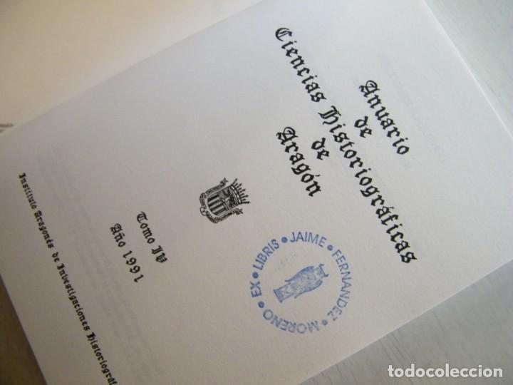 Libros de segunda mano: ANUARIO DE CIENCIAS HISTÓRICAS DE ARAGÓN (VIII TOMOS) - INST. ARAGONÉS DE INVESTIGACIONES HISTÓRICAS - Foto 13 - 134414366