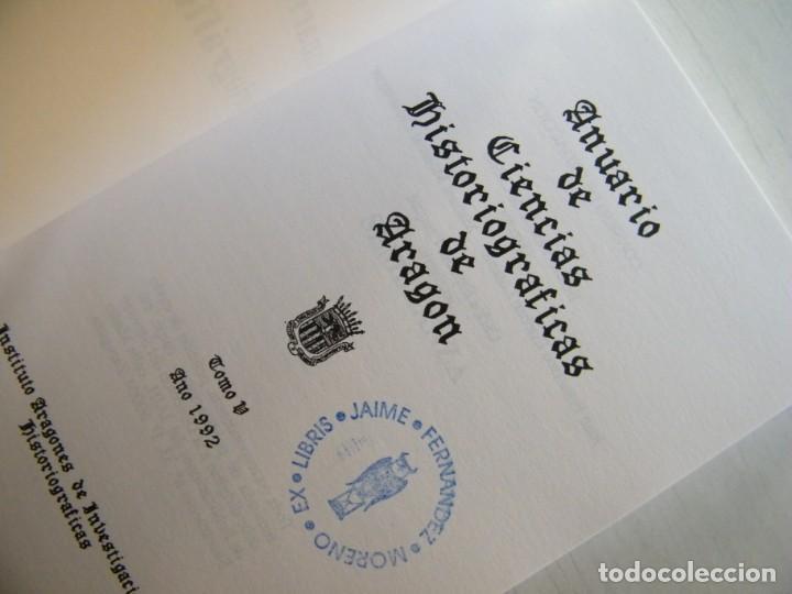 Libros de segunda mano: ANUARIO DE CIENCIAS HISTÓRICAS DE ARAGÓN (VIII TOMOS) - INST. ARAGONÉS DE INVESTIGACIONES HISTÓRICAS - Foto 14 - 134414366