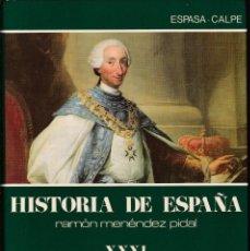 Libros de segunda mano: HISTORIA DE ESPAÑA - RAMÓN MENÉNDEZ PIDAL - ESPASA CALPE 1987. Lote 134429354