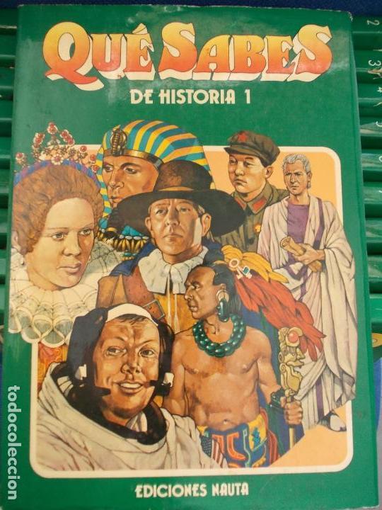 Libros de segunda mano: Que sabes Ediciones Nauta 10 volumenes - Foto 2 - 134530814