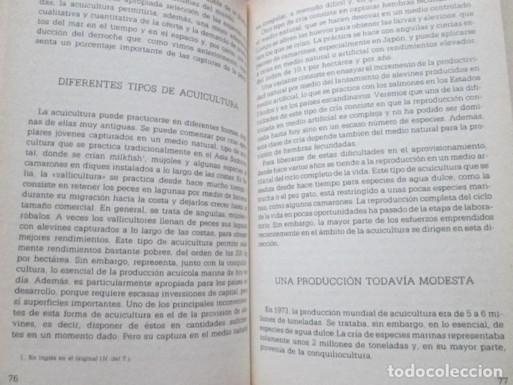 Libros de segunda mano: libro-la explotación de los océanos-michel béguery-muy interesante-orbis-1986-191 páginas-nº 65 - Foto 6 - 134797554