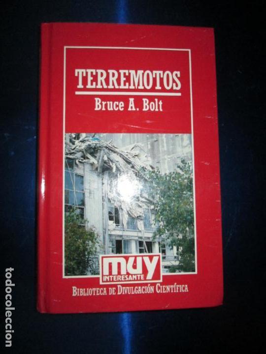 LIBRO-TERREMOTOS-MUY INTERESANTE-BRUCE A.BOLT-Nº38-ORBIS-2ªEDICIÓN-DIVULGACIÓN CIENTIFICA-BUEN ESTAD (Libros de Segunda Mano - Ciencias, Manuales y Oficios - Otros)