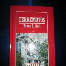 Libros de segunda mano: LIBRO-TERREMOTOS-MUY INTERESANTE-BRUCE A.BOLT-Nº38-ORBIS-2ªEDICIÓN-DIVULGACIÓN CIENTIFICA-BUEN ESTAD. Lote 134806470