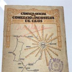 Livres d'occasion: CAMARA OFICIAL DE COMERCIO E INDUSTRIA DE REUS. Lote 134836446