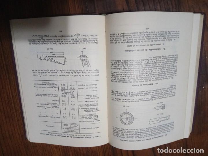 Libros de segunda mano: FORMULARIO DEL TECNICO MECANICO-KLINGELNBERG-ED. LABOR 1960 - Foto 5 - 134870674