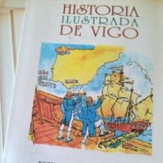 Libros de segunda mano: HISTORIA ILUSTRADA DE VIGO. 24 FASCICULOS. FARO DE VIGO.. Lote 134919382