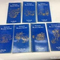 Libros de segunda mano: LA HORDA POR VICENTE BLASCO IBAÑEZ, EN 7 TOMOS, ALIANZA EDITORIAL S.A. - 2001. Lote 134923478