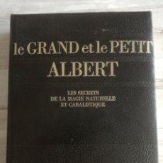 Libros de segunda mano: LE GRAND ET LE PETIT ALBERT - LOS SECRETOS DE LA MAGIA NATURAL Y CABALÍSTICA - MAGIA MEDIEVAL. Lote 134925206