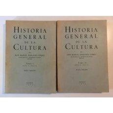 Libros de segunda mano: HISTORIA GENERAL DE LA CULTURA. 2 TOMOS. Lote 134965515