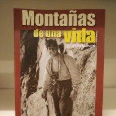 Libros de segunda mano: LIBRO MONTAÑAS DE UNA VIDA,WALTER BONATTI,DESNIVEL. Lote 134998455