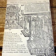 Libros de segunda mano: FIESTAS POR EL PATRONATO CONCEPCIONISTA, 1761-1763. - GARCÍA Y GARCÍA, TOMÁS DE. DEDICADO POR EL AUT. Lote 153391096