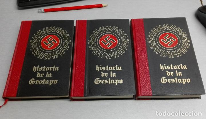 HISTORIA DE LA GESTAPO / COMPLETA 3 TOMOS / CÍRCULO AMIGOS DE LA HISTORIA 1971 (Libros de Segunda Mano - Historia - Otros)